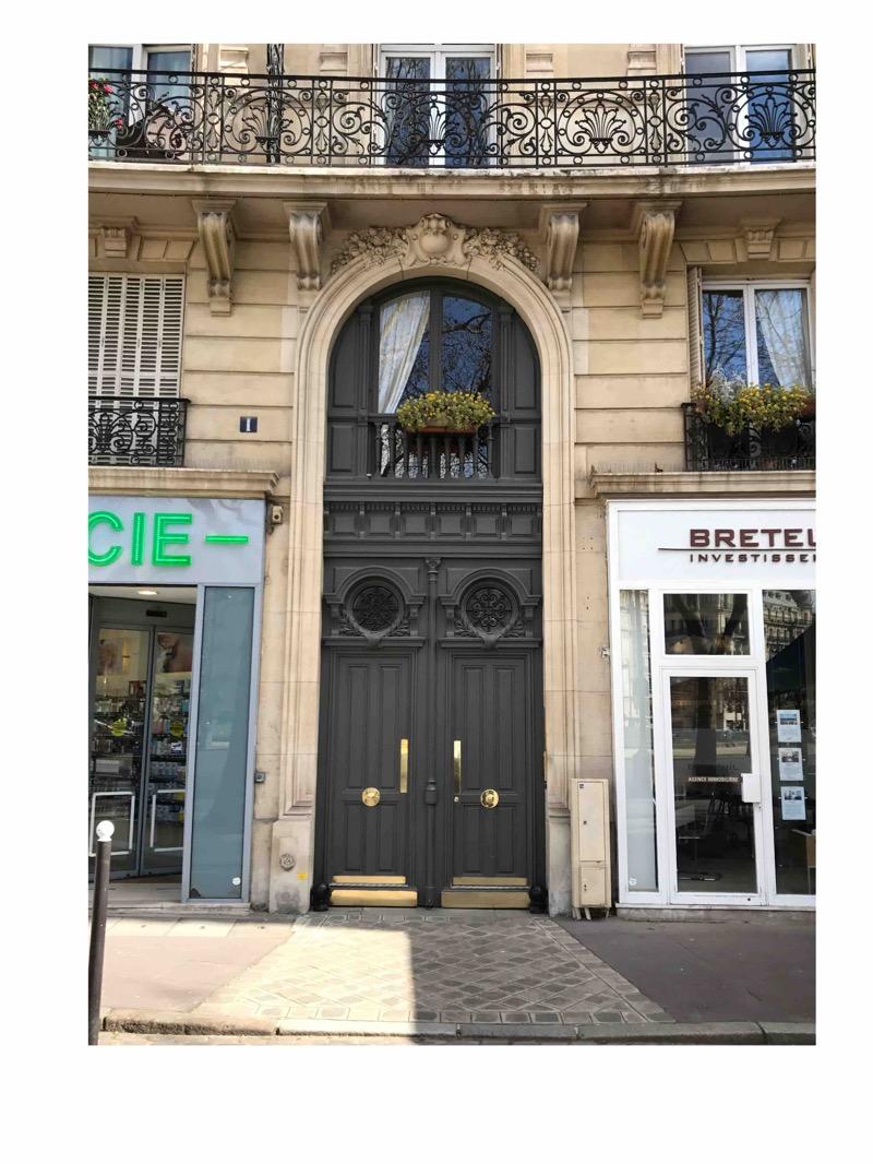 Porte Cochère Avec Baie D\'entresol - 1Place De Breteuil - Paris 7