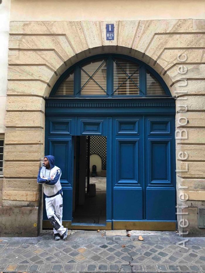 Porte Cochère à Baie D\'entresol - 1 RUE HAUTEFEUILLE PARIS 5