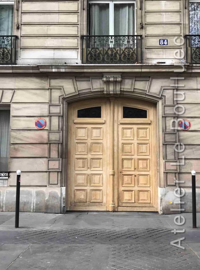 Porte Cochère Empire - 84 AV DE WAGRAM