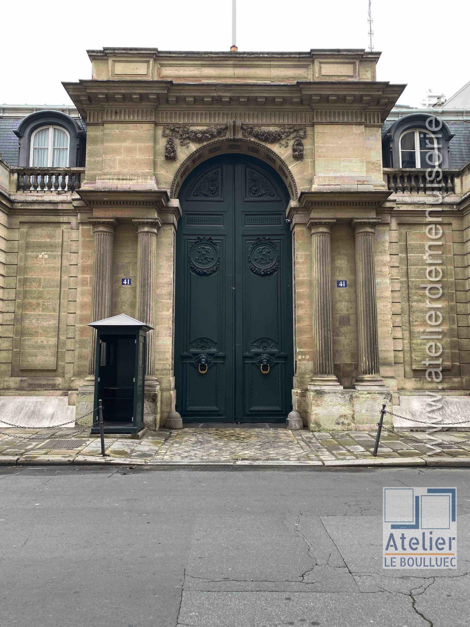 Porte Cochère Monumentale - 41 RUE DU FAUBOURG ST HONORE PARIS 8
