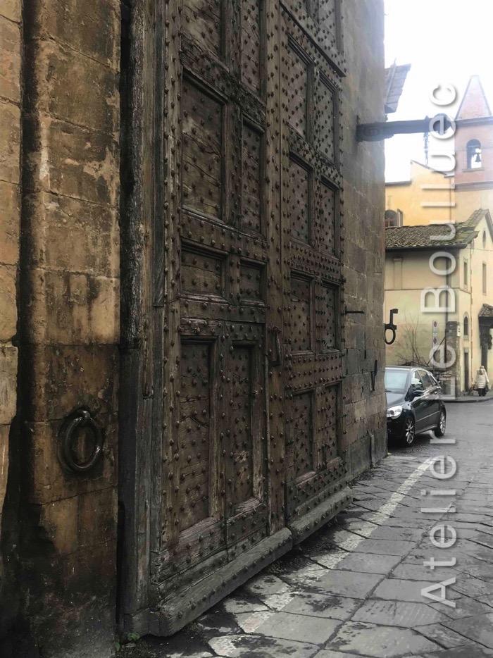 Porte Cochère Monumentale - Florence Italie
