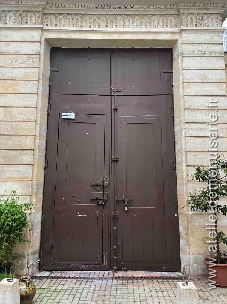 Porte Cochère Monumentale 15 RUE BARBETTE - PARIS 3 - Face Int