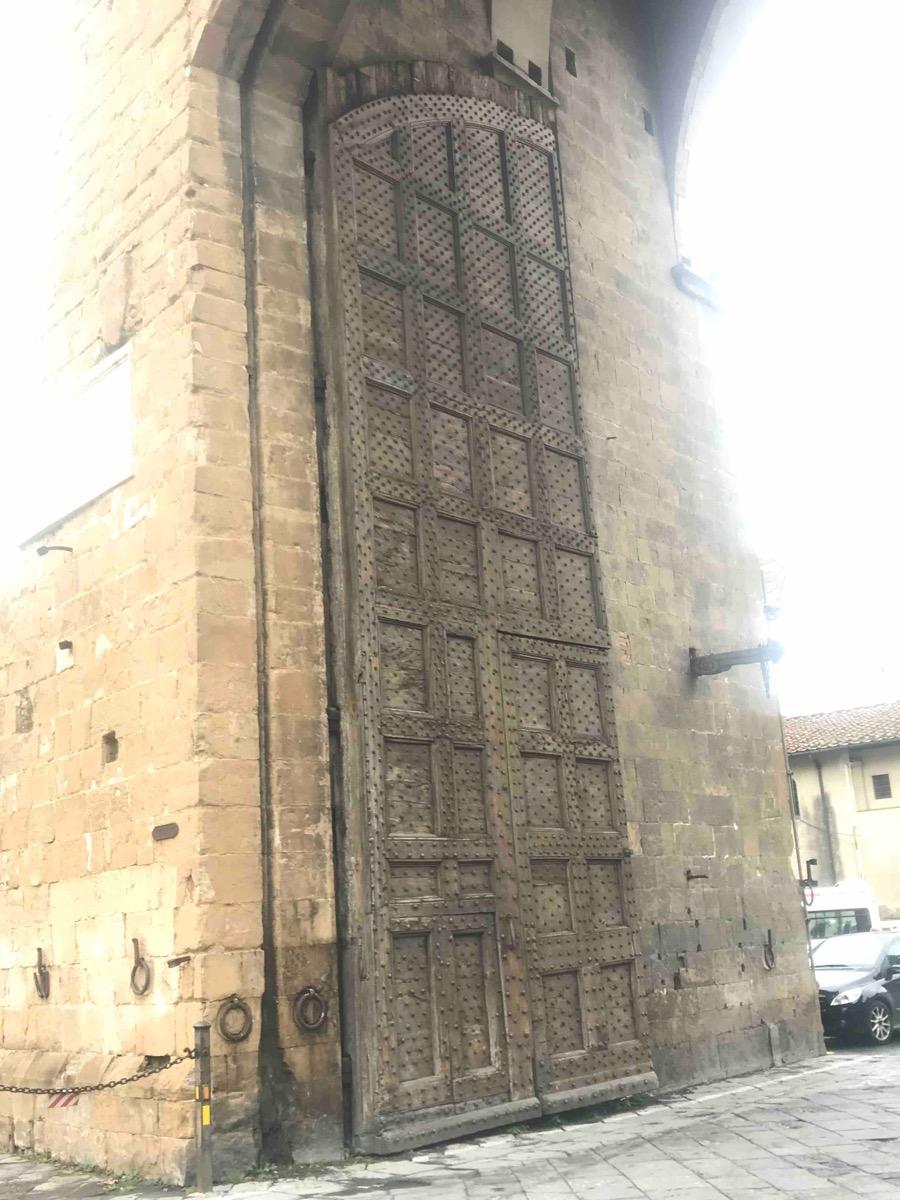 Porte Cochère Monumentale P1 - Florence Italie