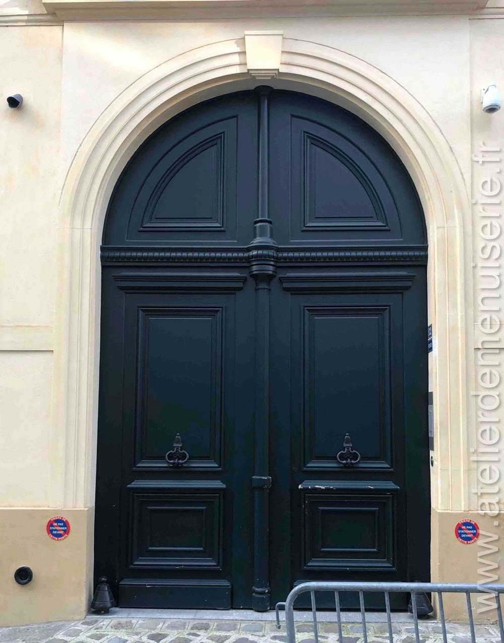Porte Cochère à Voute En Plein Cintre - 12 Rue Monsieur - Paris 7
