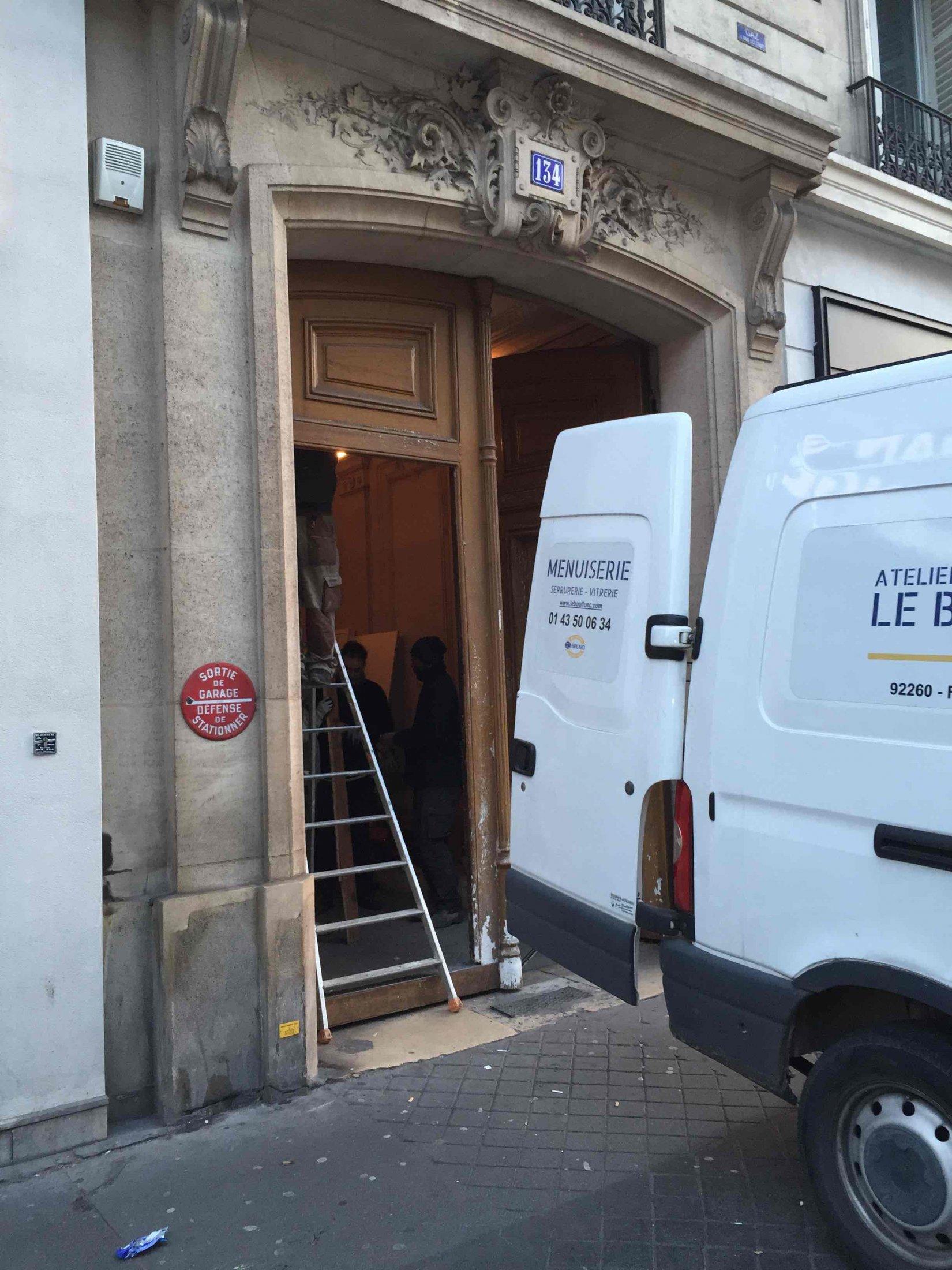 Porte Cochère 134 Bd Saint Germain 0 Atelier 01