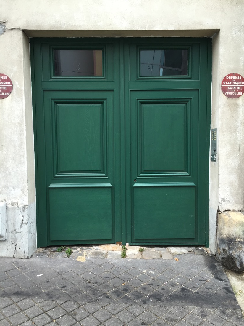 Porte Cochère Rue Des Pavillons 09