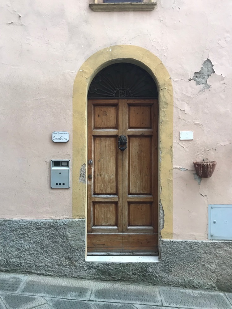 Porte Maison 1 Gambassi Terme - Sienne - Italie