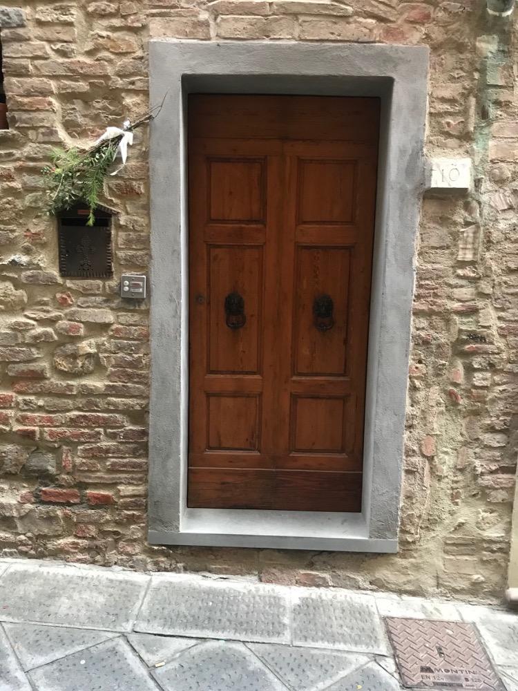 Porte Maison 2 Gambassi Terme - Sienne - Italie