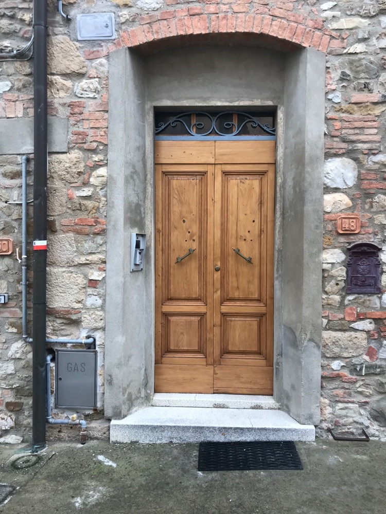 Porte Maison 4 Gambassi Terme - Sienne - Italie