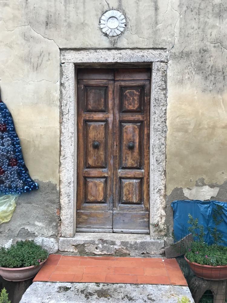 Porte Maison De Ville - Quartaia Sienne - Italie