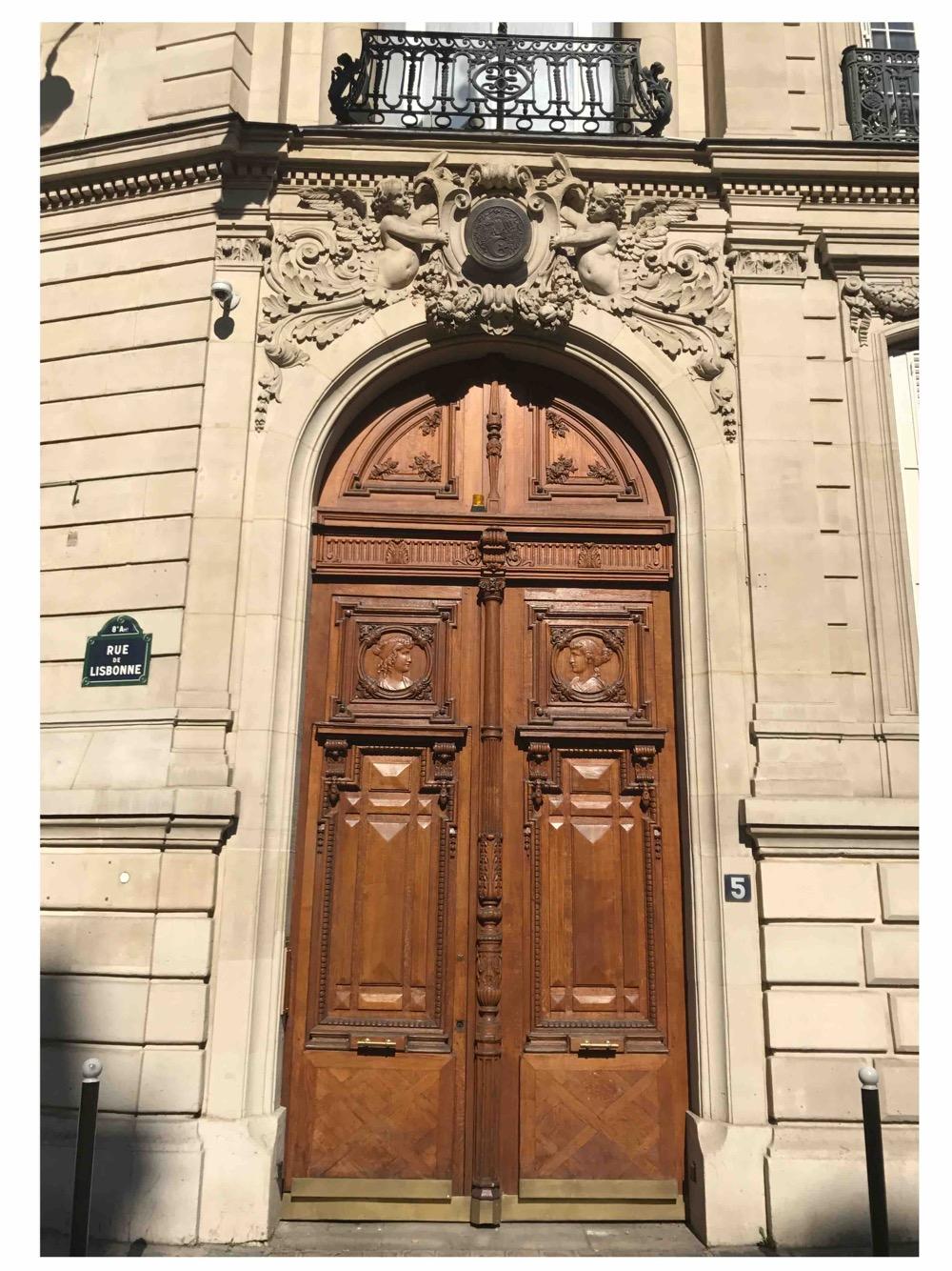 Porte Monumentale 5 Rue De Lisbone - Paris 8