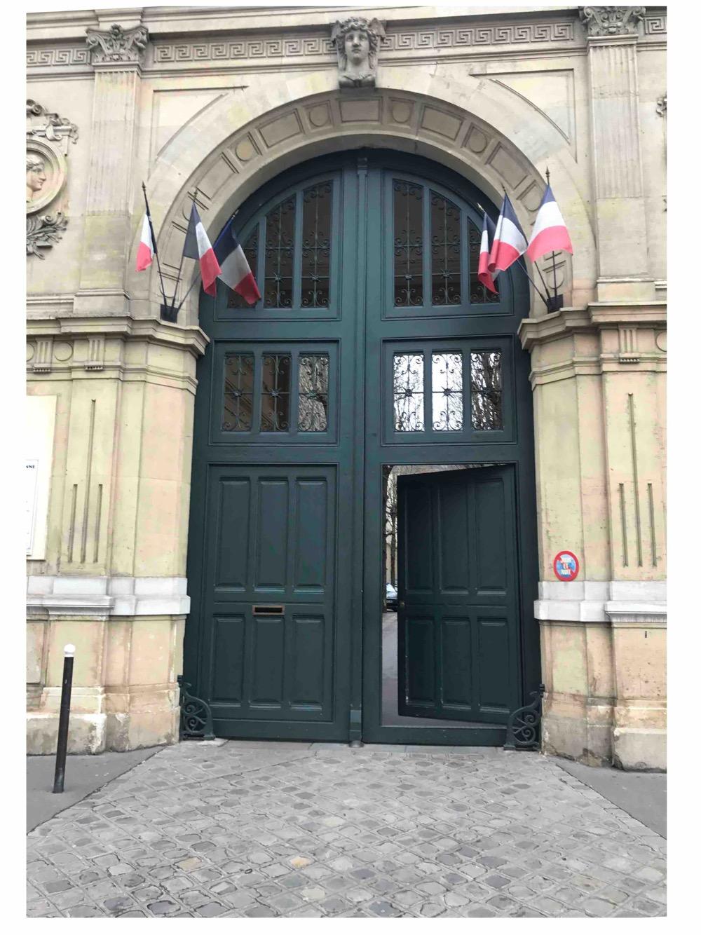 Porte Monumentale Av De Villiers - Paris 17