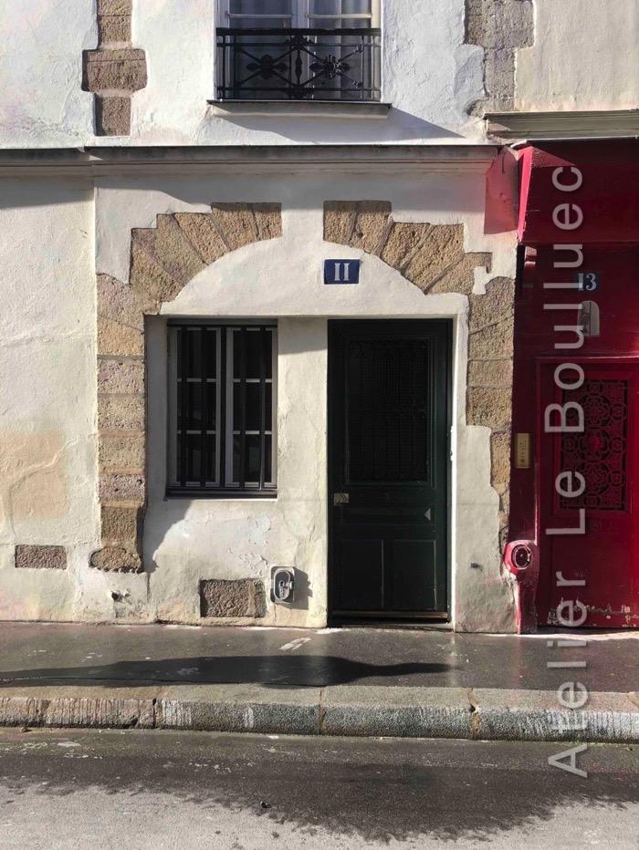 Porte Piétonne - 11 Rue Charles V - Paris 4