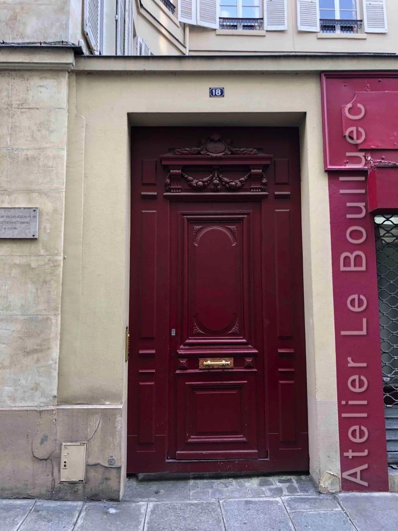 Porte Piétonne - 18 RUE DE LA SOURDIERE PARIS 3