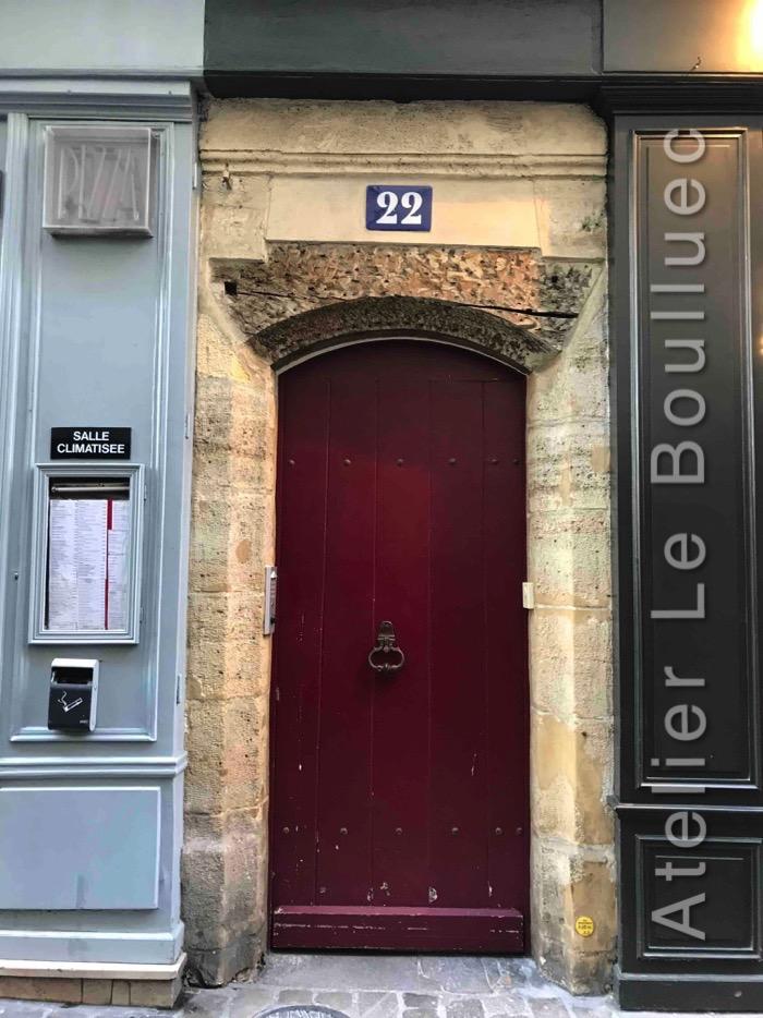 Porte Piétonne - 22 Rue Bonaparte Paris 6