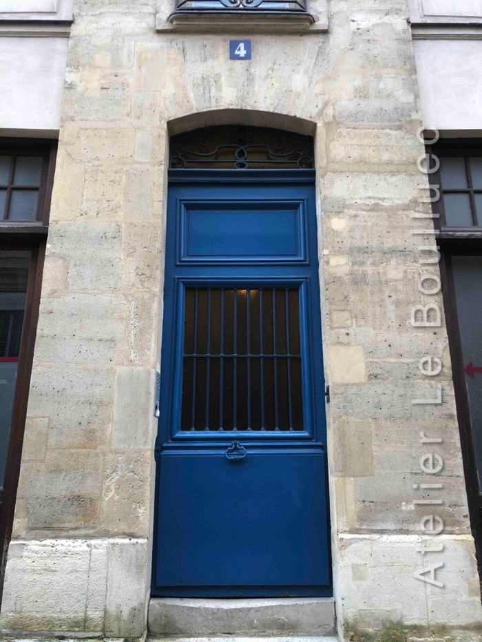 Porte Piétonne - 4 RUE FRANCOIS MIRON PARIS 3