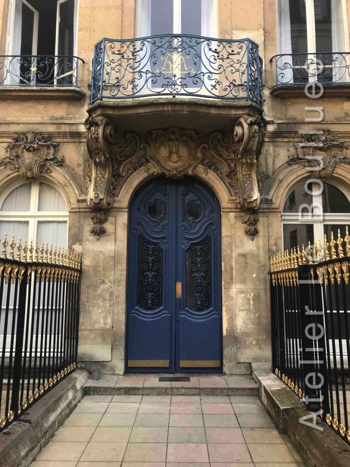 Porte Sur Cour Donnant Sur La Rue Saint Denis Entre Rue De Tracy Et Rue Blondel
