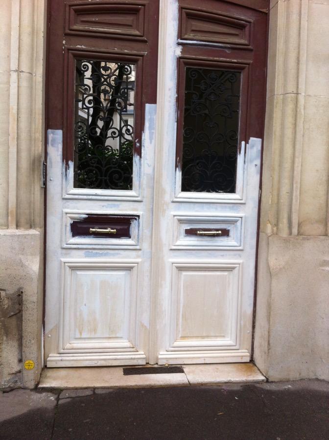 Porte Sur Rue 14 Bd E Quinet 4 Reposée