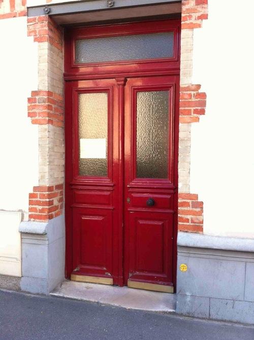 Porte Sur Rue Galilée Avant Travaux