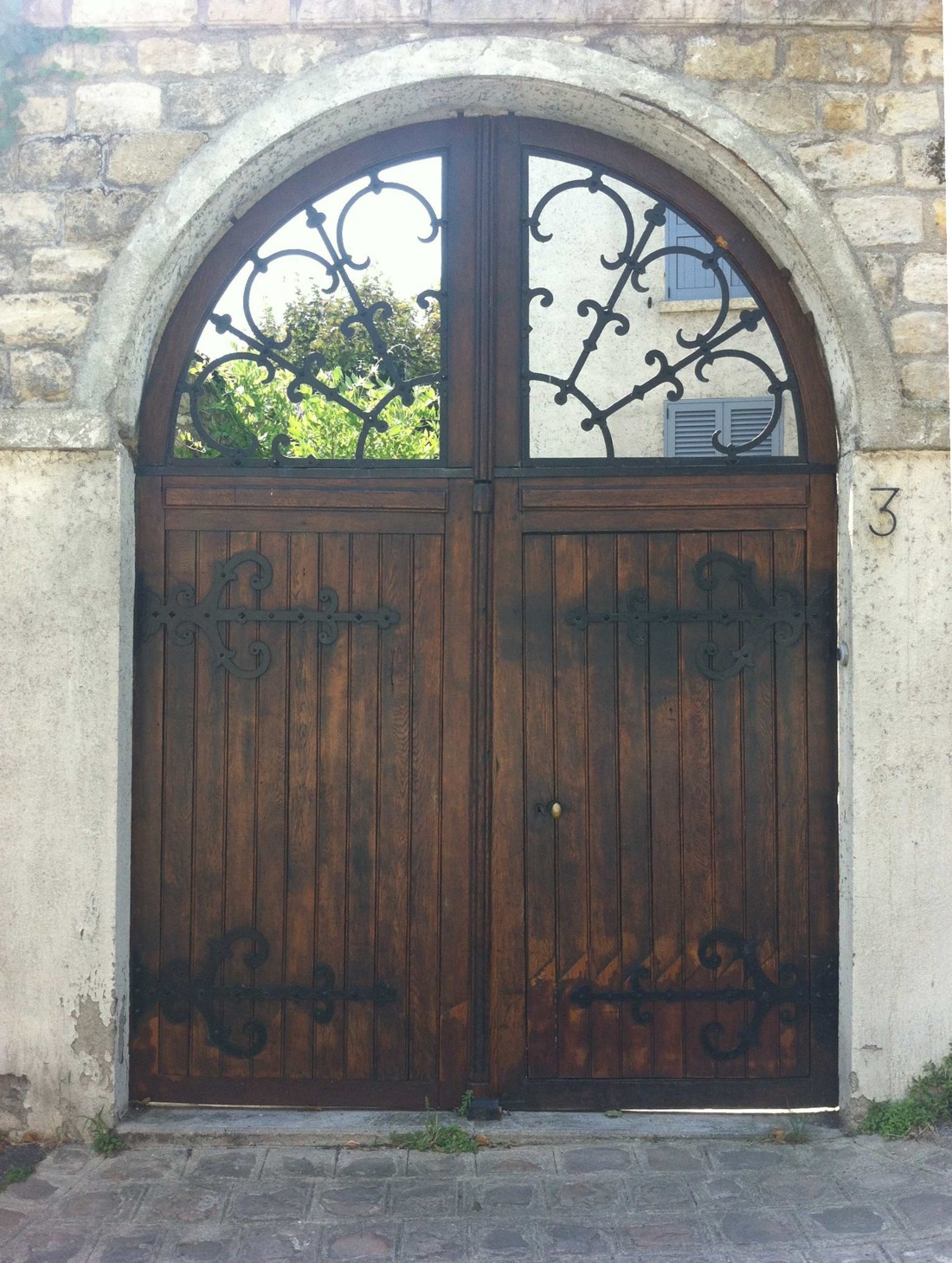 Restauration Porte Cochère