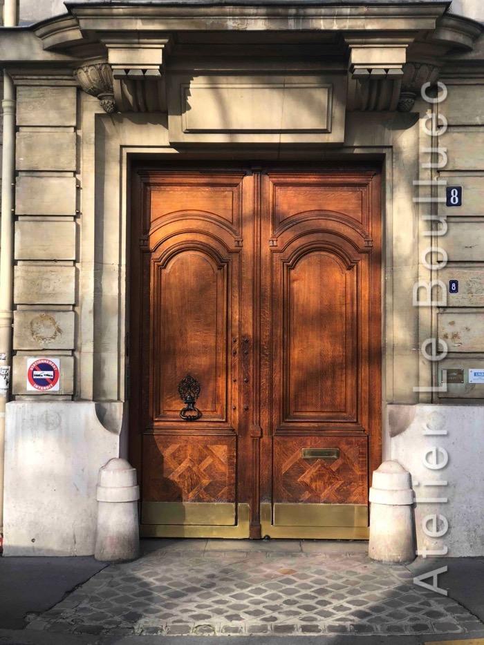 Porte Cochère Louis XV - 8 RUE DU GENERAL CATROUX PARIS 17