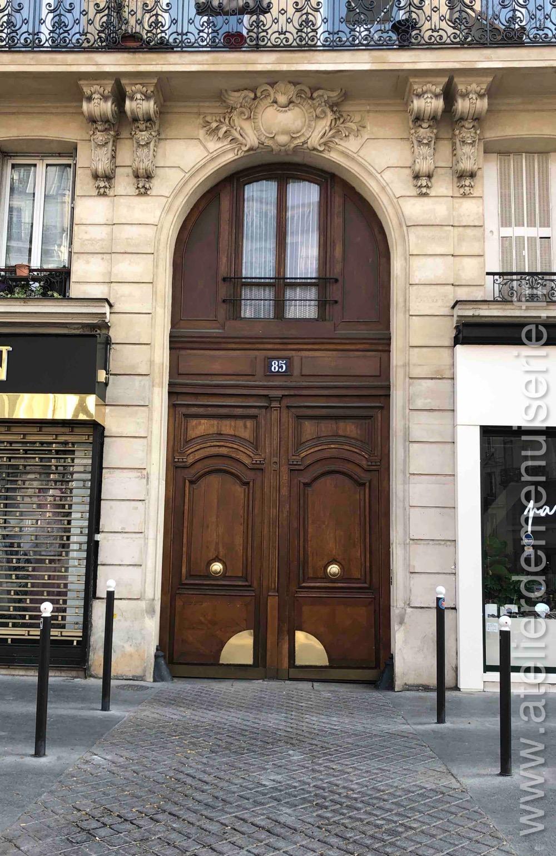 Porte Cochère Avec Baie D\'entresol - 85 Bd Voltaire - Paris 10