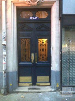 2016 12 Porte Rue 129 Av De Saint Ouen Paris 18