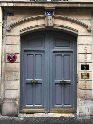 2017 02 Porte Cochère Rue De Saint Petersbourg Paris 8