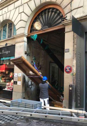 2017 03 Repose Porte Cochère Monumentale Rue De La Chaussée D\'Antin