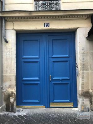 2017 11 Porte Cochère 19 Rue Des Feuillantines - Vue D\'ensemble