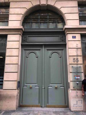 2018 07 Porte Cochère 55 Rue De Chateudun Face Ext