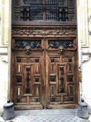 2018 09 Porte Cochère 12 Rue Du Cardinal Mercier - Paris 9 - Photo 1 - Travaux En Cours 1