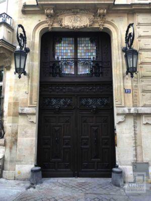 2018 09 Porte Cochère 12 Rue Du Cardinal Mercier - Paris 9 - Photo 3 - Vue D\'ensemble Après Travaux
