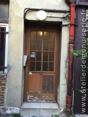 2018 11 Porte Sur Cour 10 Rue Bichat P1 Avant Remplacement
