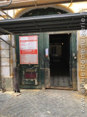 2018 12 Porte Cochère 4 Av Maréchal Joffre Versailles P1 Porte Ancienne Vue Ext