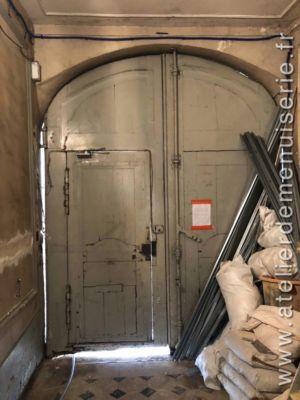 2018 12 Porte Cochère 4 Av Maréchal Joffre Versailles P2 Porte Ancienne Vue Int