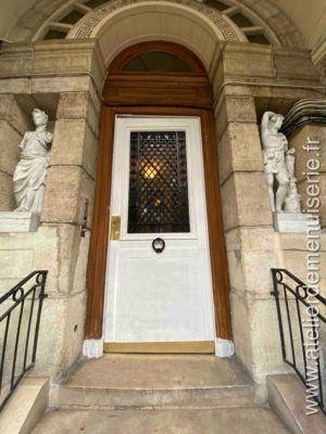 2019 08 - Porte Sur Rue 140 Bd Richard Lenoir - Paris 11 - Vue Extérieure
