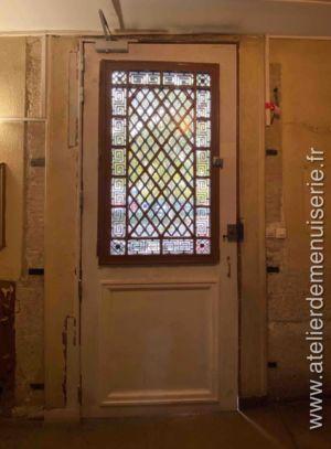 2019 08 - Porte Sur Rue 140 Bd Richard Lenoir - Paris 11 - Vue Intérieure