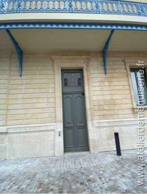 2019 10 - Batiment Lescoeur Rue Dailly Saint Cloud - Vue Extérieure