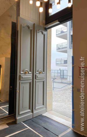 2019 10 - Batiment Lescoeur Rue Dailly Saint Cloud - Vue Intérieure
