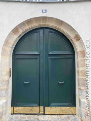 2019 11 - Porte Cochère - 15 Rue Seguier - Paris 5 - 1 - Vue Extérieure