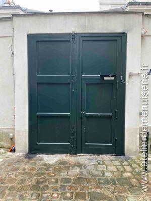 2019 11 - Porte Cochère - 15 Rue Seguier - Paris 5 - 2 - Vue Intérieure