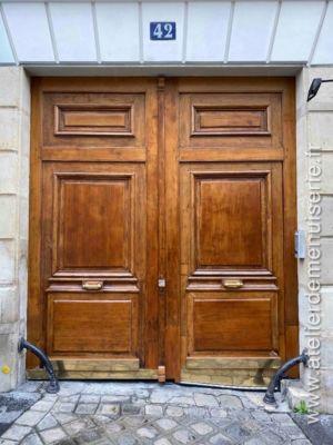 2019 12 - Porte Cochère 42 Rue Du Cardinal Lemoine - Paris 5 - 1 - Vue D\'ensemble