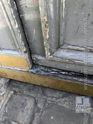 2020 01 Porte Cochère 4 Rue Chauveau Lagarde Paris 8 - P01 - Vue Ext Détail Avant Travaux