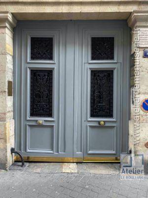 2020 01 Porte Cochère 4 Rue Chauveau Lagarde Paris 8 - P06 - Vue Ext Générale