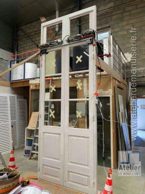 2020 07 Porte à Deux Vantaux Motorisés Photo 1 à L\'atelier