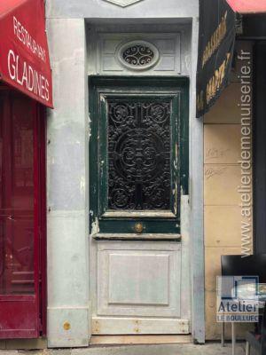 2020 09 Porte Rue 72 Bd Des Batignoles Photo3 Après Restauration