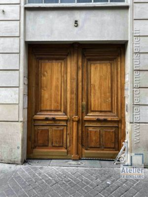 2020 11 Porte Cochère 5 Rue Saulnier Paris 9 Photo 1 Vue Ext