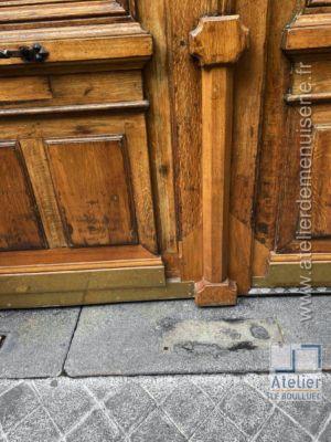 2020 11 Porte Cochère 5 Rue Saulnier Paris 9 Photo 2 Détail Vue Ext
