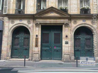 Ensemble De Portes Cochère - 40-44 RUE DE PROVENCE PARIS 9